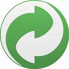 Grüner Pfeil An El - clipart recycling symbol