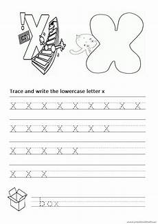 letter x traceable worksheets 24337 trace and write the lowercase letter x worksheet for 1st grade and kindergarten preschool crafts