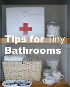 tips for tiny bathrooms hometalk