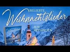 beliebte weihnachtslieder zum mitsingen