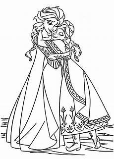 Gratis Malvorlagen Und Elsa Frozen Ausmalbilder 02 Ausmalbild Eisk 246 Nigin