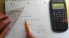 diagonale ausrechnen diagonale eines rechtecks