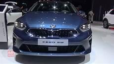 2020 Kia Ceed Sw Exterior And Interior Debut At Geneva