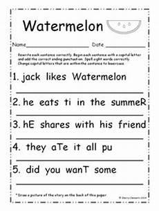 13 best images of letter correction worksheets first