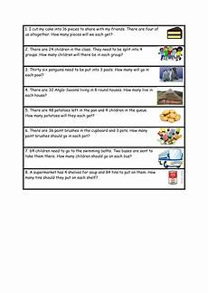 word problems division worksheets 11014 division word problems differentiated by karenstanton teaching resources tes