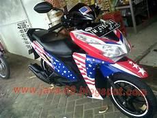 Variasi Stiker Motor by Java 88 Cutting Stiker Honda Vario