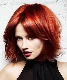 Rote Haare Frisuren - hairstyles sensationally copper retro curls