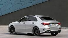 mercedes a class sedan vs see the changes