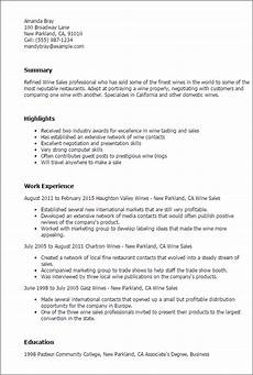 sales resume templates to impress any employer livecareer