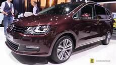 Vw Sharan 2018 - 2018 volkswagen sharan exterior and interior walkaround
