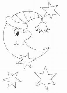 Malvorlagen Sterne Italien Ausmalbilder Mond Und Sterne