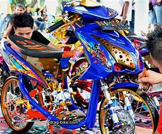 modifikasi mio soul semi drag 35 foto gambar modifikasi mio soul gt thailook airbrush