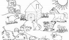 Ausmalbilder Haustiere Bauernhof Haustiere Ausmalbilder Attachment Img Title Kinder