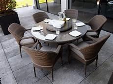 table de jardin ronde table de jardin ronde 6 places