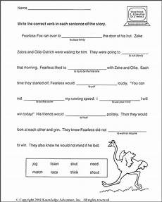 vocabulary worksheets second grade 16 best images of verbs and helping verbs worksheet
