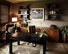 Home Office Decor Ideas For Him by Modern Home Office Design With Leather Chair Home