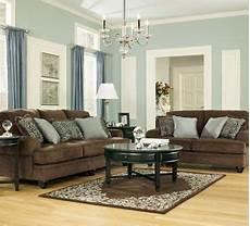 living room chocolate sofa loveseat brown living room living room