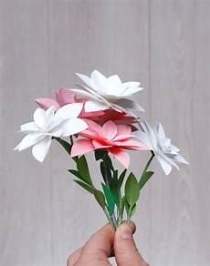 Fleur Papier Diy Annif Raiponce Bouquets De Fleurs En