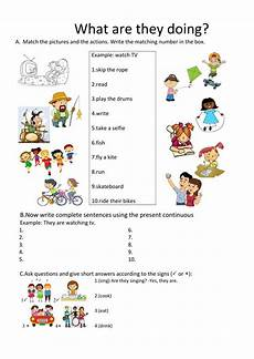 grammar worksheets present continuous tense 24932 present continuous interactive and downloadable worksheet you can do the exercises or
