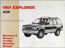 electric and cars manual 1990 ford e series security system mid 1990 to early 1991 ford explorer repair shop manual supplement original