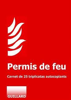 feu point permis de feu 25 exemplaires en triplicata source www