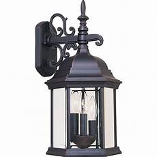 lighting builder cast 3 light empire bronze outdoor wall 1073cleb the home depot