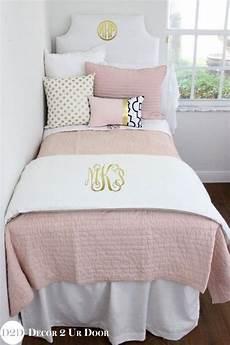 this designer dorm bedding features crisp and clean white