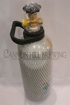 2 6 kg co2 gas cylinder from cannon hill brewing kegging