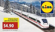 Lidl Bahnticket 2018 187 Buchen Code Einl 246 Sen