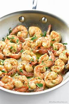 easy garlic shrimp recipe wears many hats