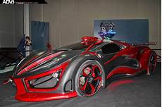 supercar made from metal foam inferno car adv
