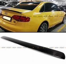 for 2012 2016 audi s4 b8 sedan carbon fiber vip rear roof window spoiler wing ebay
