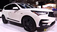 2019 acura specs 2019 acura rdx a spec exterior and interior walkaround