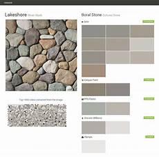 lakeshore river rock cultured stone boral stone behr valspar paint ppg paints sherwin