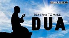 best way to make dua mufti menk