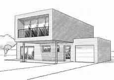 maison 3d dessin maison moderne facile a dessiner
