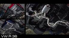 vw r36 exhaust sound ego x by bull x exhausts