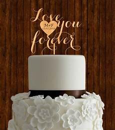 rustic cake topper wedding cake topper wood cake topper unique cake topper initial cake