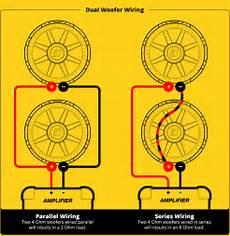 2 ohm subwoofer parallel wiring diagram subwoofer speaker wiring diagrams kicker 174