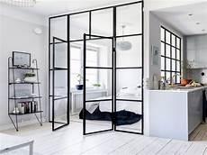 separation de bureau en verre totally unique ways to use glass door as a room divider