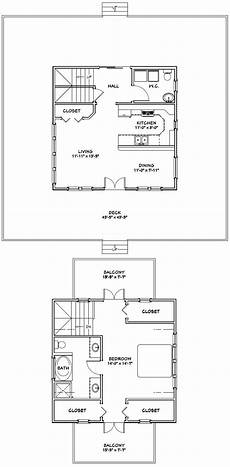 24x24 house plans 24x24 house 24x24h3b 1 064 sq ft excellent floor
