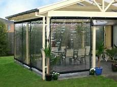 clear tarp for patio waterproof commercial 0 5mm pvc clear awning canopy patio roll up enclosure new ebay