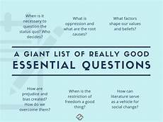 many many exles of essential questions essential questions essential questions higher