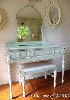 4 The Of Wood Shabby Chic Vanity Soft Turquoise