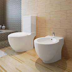 wc und bidet stand toilette wc inkl softclose wc sitz standbidet