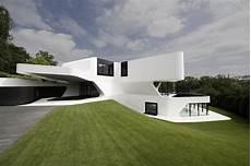 futuristic villa in a futuristic villa by j mayer h architects ignant