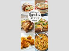 Looking for some kids friendly recipe ideas for a Sunday