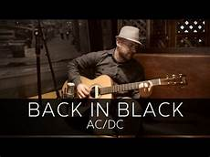 Back In Black Ac Dc Acoustic Guitar Cover