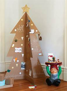 baum basteln pappe how to make a modern cardboard tree chatelaine