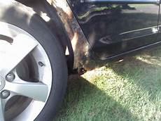 Mazda Rust Repair Advice Motor Vehicle Maintenance